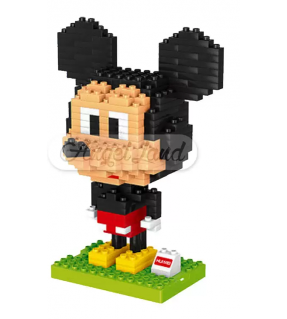 Hui Mei HM190-1 Micky Mouse DIY Building Blocks Classical
