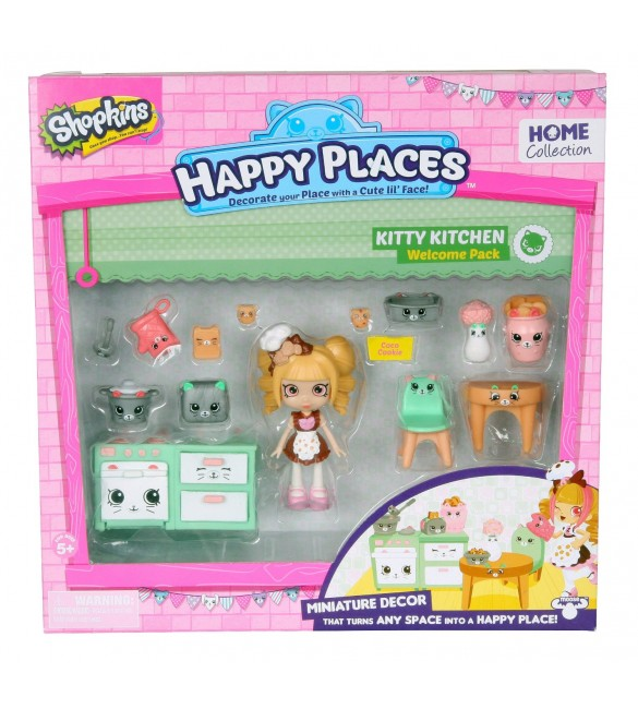 Shopkins Happy Places Welcome Pack Kitty Kitschy