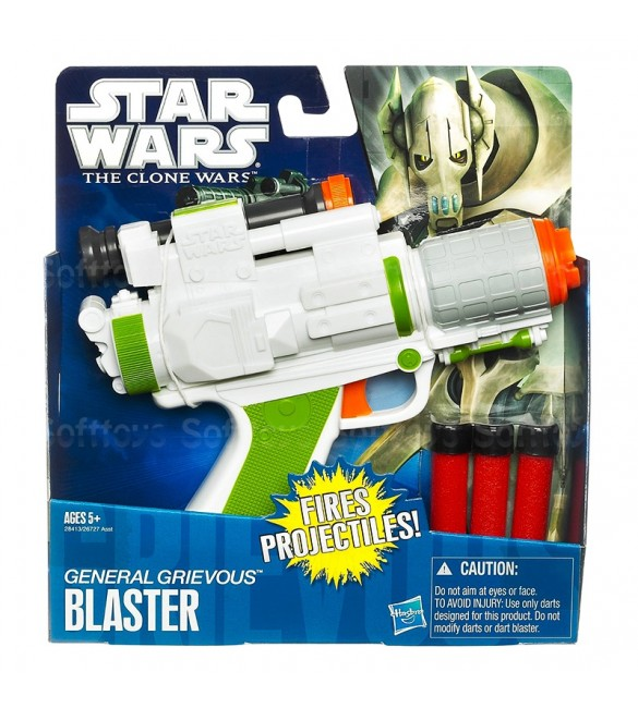 Star Wars The Clone Wars General Grievous Basic Blaster