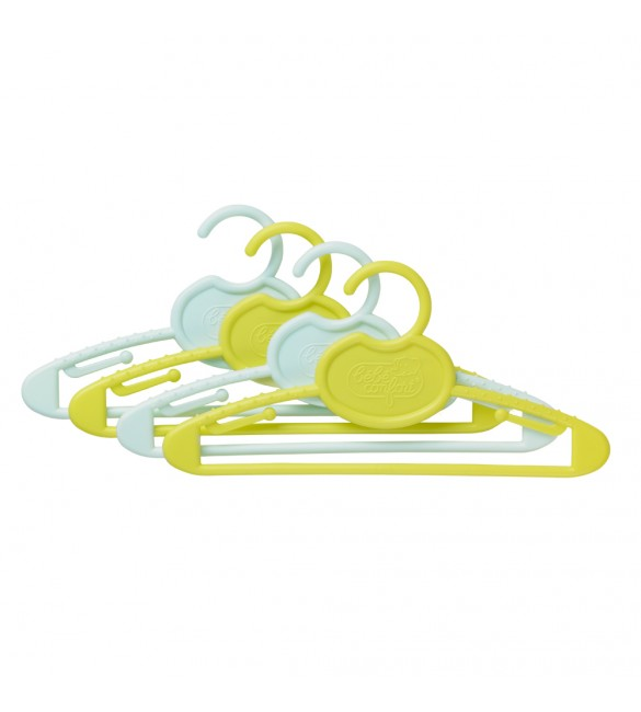 Bebe Confort 4 plastic cloth-hangers infant