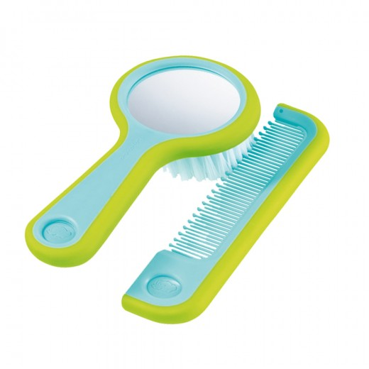 Bébé Confort's Brush & Comb With Mirror.