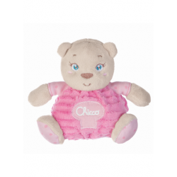 Chicco - PLUSH Bear - pink (with gift box)