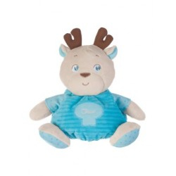 Chicco - Plush Reindeer Maxi - Blue  (with gift box)