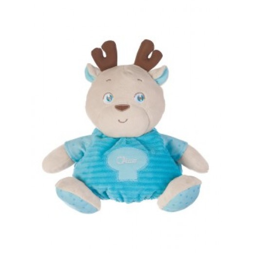 Chicco - PLUSH Bear - Blue  (with gift box)