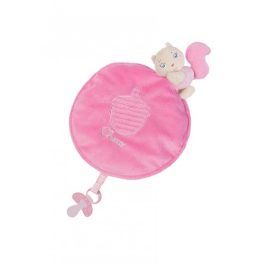 Chicco - Blanket Squirrel - Pink (with gift box)