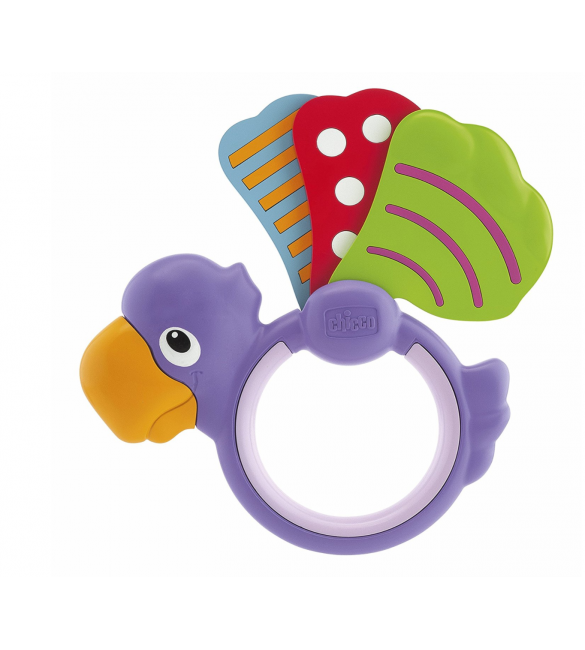 Chicco Baby Senses Parrot Rattle