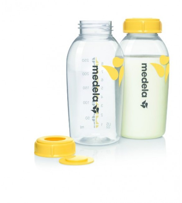 Medela Breastmilk Collection and Storage Bottles 8oz (250ml) - 2 Each