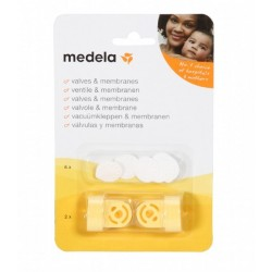 Medela Spare Valves And Membranes 2 Sets