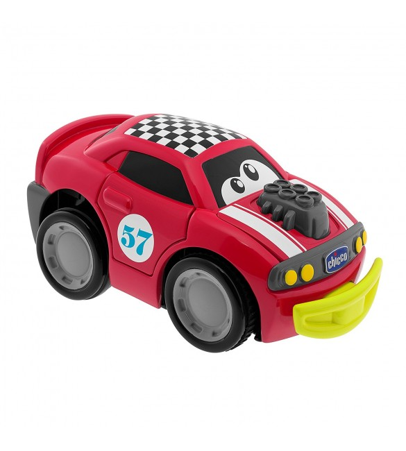Chicco Turbo Touch Crash Derby Toy Vehicle, Red