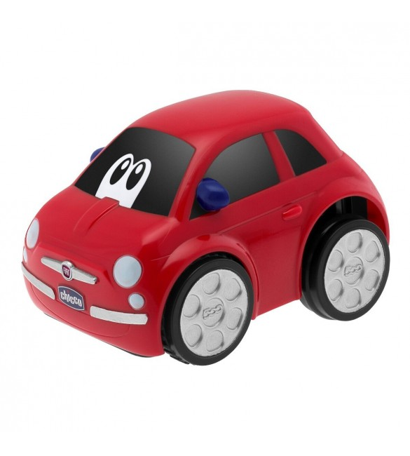 Chicco Turbo Touch Fiat 500 Car - Red