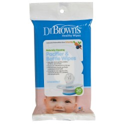 Dr. Brown's 30 Pacifier & Bottle Wipes
