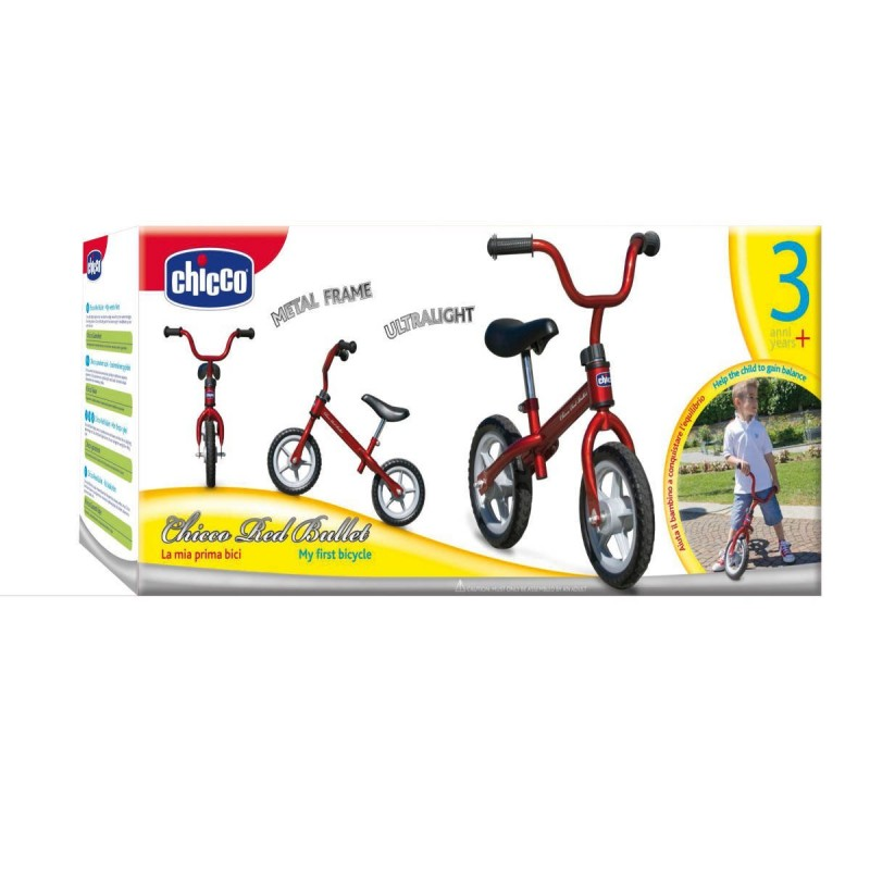 Chicco Red Bullet Balance Training Bike   Chicco