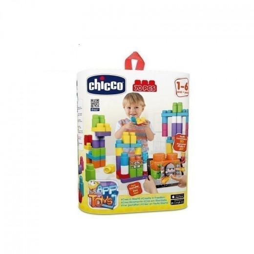 Chicco - Blocks Bag 70 Pieces
