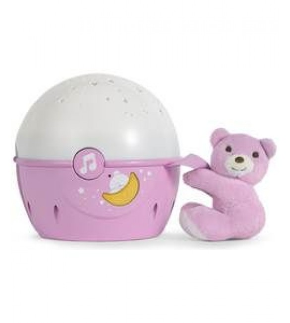 Chicco Next 2 Stars Crib Projector Pink