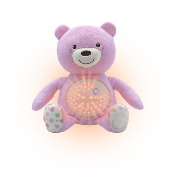 Chicco Baby Bear Doll (Pink)