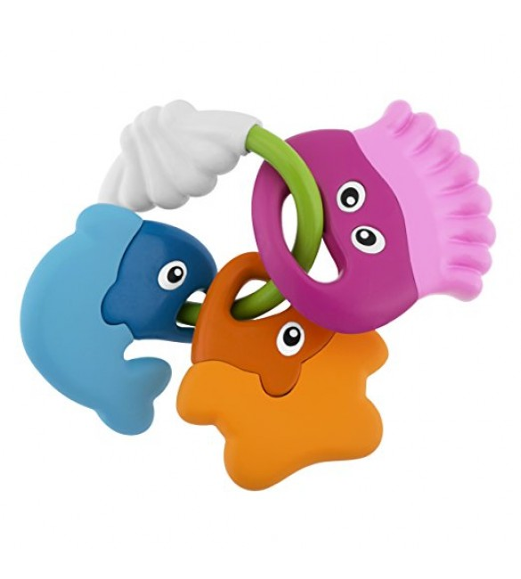 Chicco Baby Senses Fish Rattle Teether