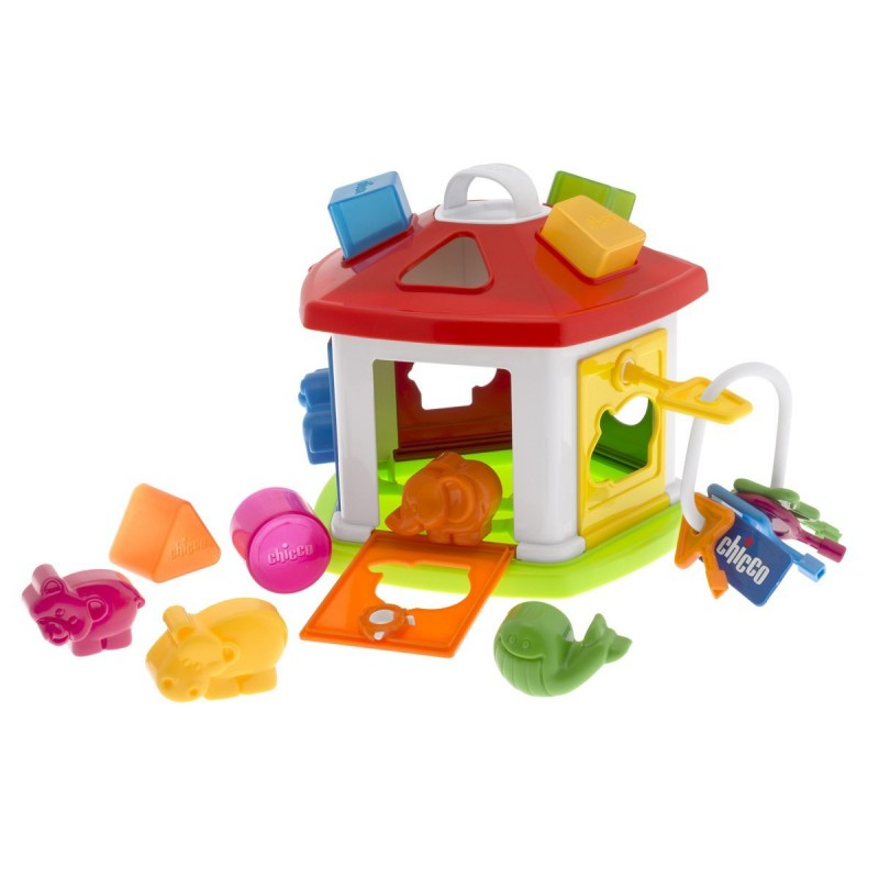 Chicco Animal Cottage Shape Sorting Nursery Toy Chicco