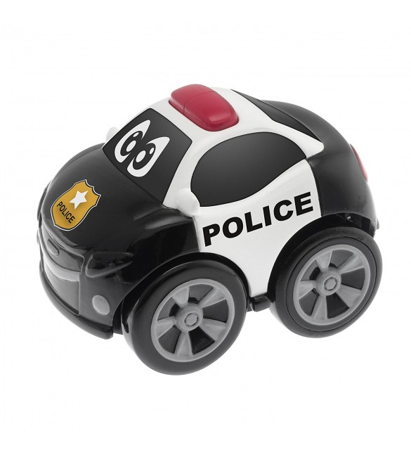 Chicco Toy Turbo Team Workers Police, Multi Color