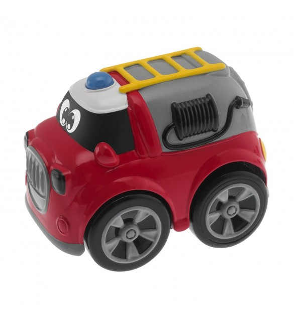 Chicco Toy Turbo Team Workers Fire Truck, Multi Color