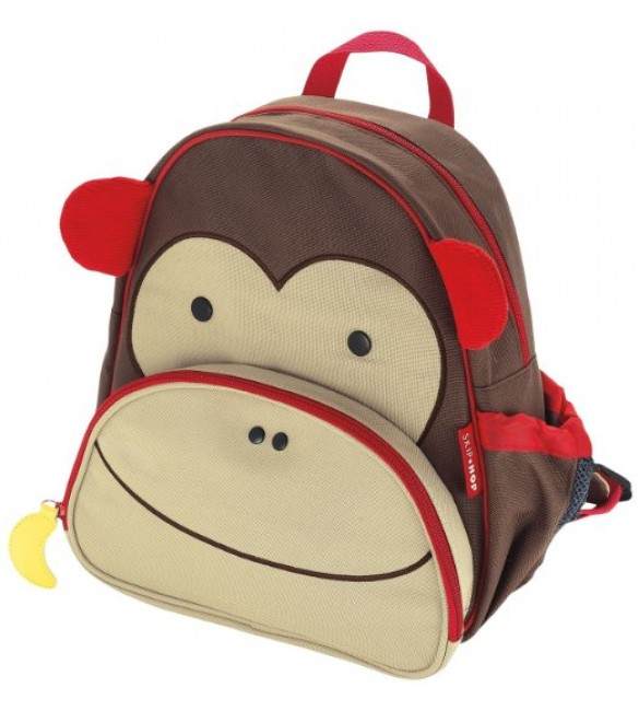 SKIP HOP ZOO LITTLE KID BACKPACK MONKEY