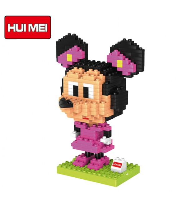 HUI MEI MINNIE MOUSE DIY BUILDING BLOCKS CLASSICAL