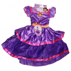 Dora the Explorer Dance Dress up Costume Toddler, 2-4 Years