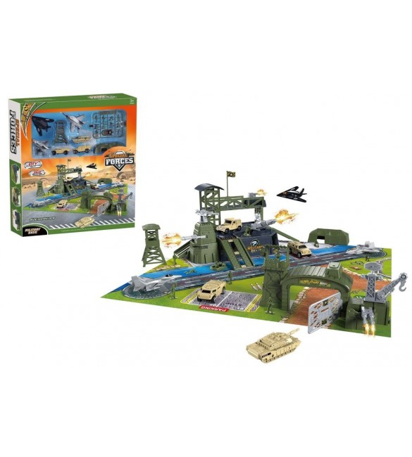 Special Forces Military Base Play Set
