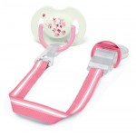Philips Avent Pacifier Clip (Pink)