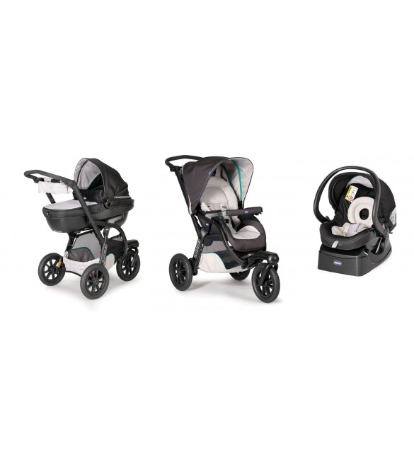 Chicco Trio Activ3 With Kit Car  Dune