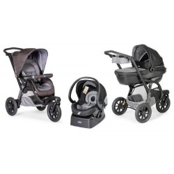 Chicco Trio Active 3 With Kit Car Grey