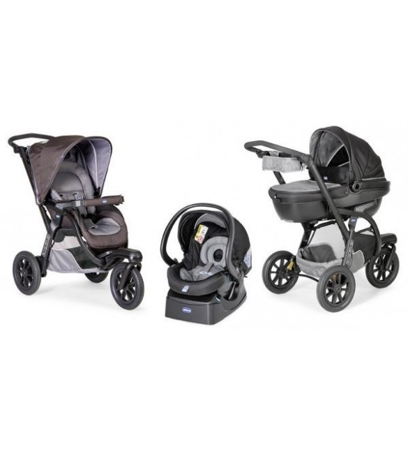 Chicco Trio Activ3 With Kit Car Grey