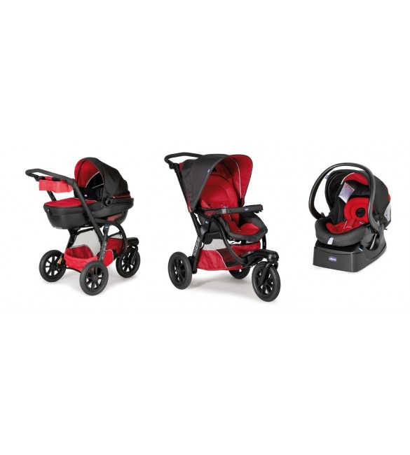 Chicco Trio Activ3 With Kit Car Red