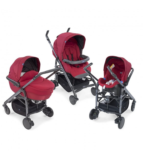 Chicco Trio Love Kit Car Red