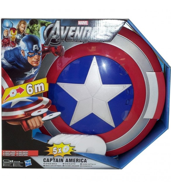 Marvel The Avengers Captain America Attack Shield