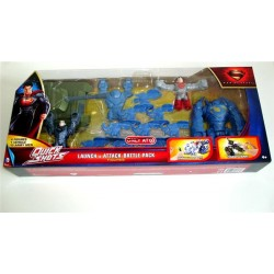 Superman Man of Steel Quick Shots Launch & Attack Battle Pack