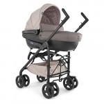 Trio Sprint Stroller + Baby Pram + Car Seat + Kit Car Sand