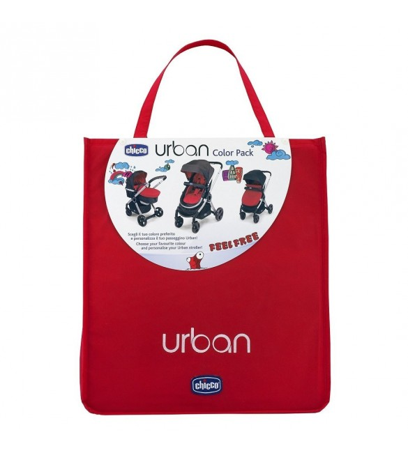 Colour Pack for Urban Stroller RED WAVE