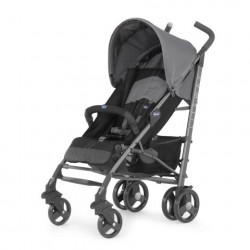 Chicco Liteway Top Stroller with Bumper Bar - Coal