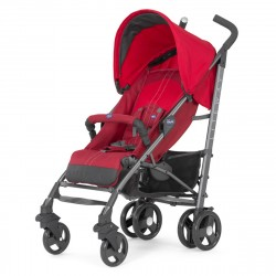 Chicco New Lite Way Basic With Bumper Bar - Red