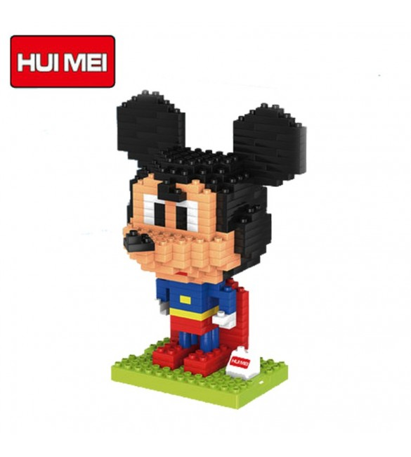 HUI MEI SUPERMAN MICKEY MOUSE BUILDING BLOCKS CLASSICAL