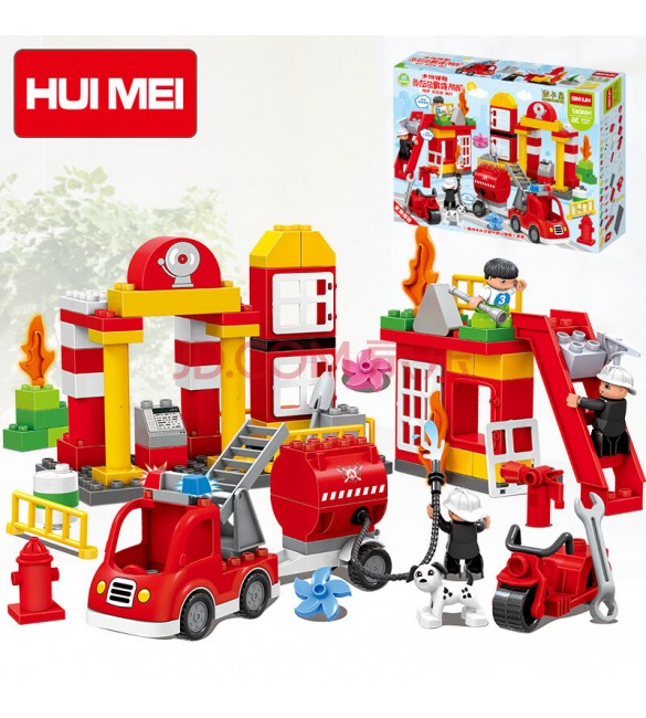 hui mei fire rescue story  educational building blocks