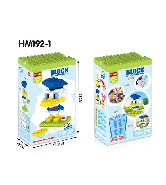 HUI MEI DONALD DUCK  BUILDING BLOCKS CLASSICAL