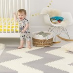 Skip Hop Playspot Geo Foam Floor Tiles Grey