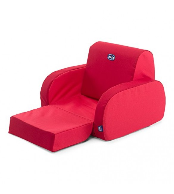 Padded Chair Chicco Twist Sofa Red
