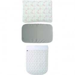 Chicco Bedding Set Next 2 Me Lullago Nature White