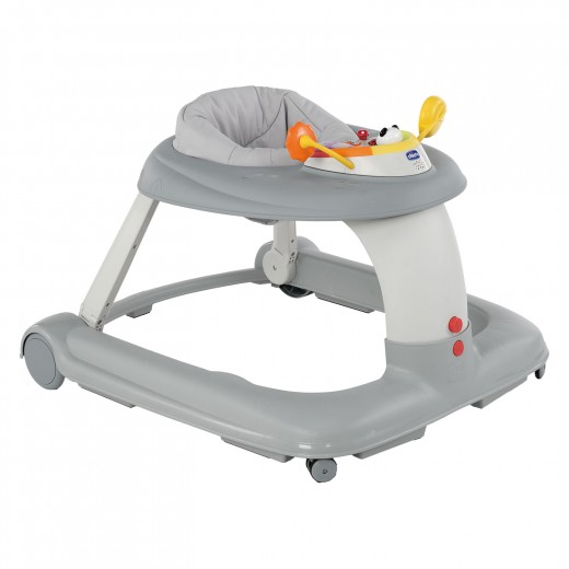 Chicco 123 Baby Walker - Silver