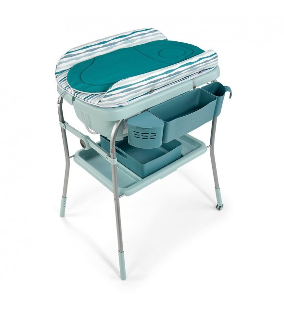 Chicco Cuddle and Bubble Comfort Changer with Bath Baby Station - Wild