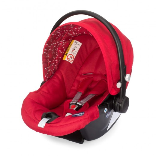 Chicco Synthesis Xtplus Baby Car Seat (Red)