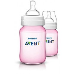 Philips Avent Classic Feeding Bottle 260ml (Pink)