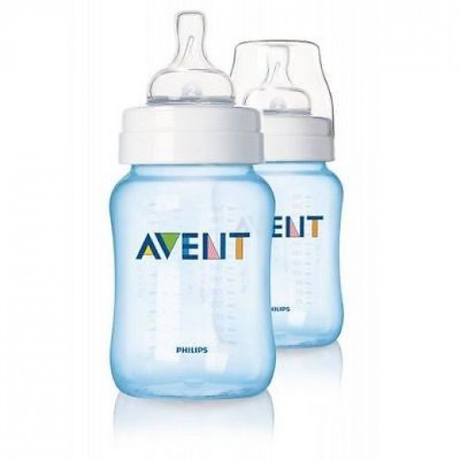 Philips Avent Classic Feeding Bottle 260ml (Blue)